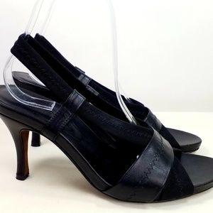 Donald J Pliner Black High Heel Sandals Size 8.5M